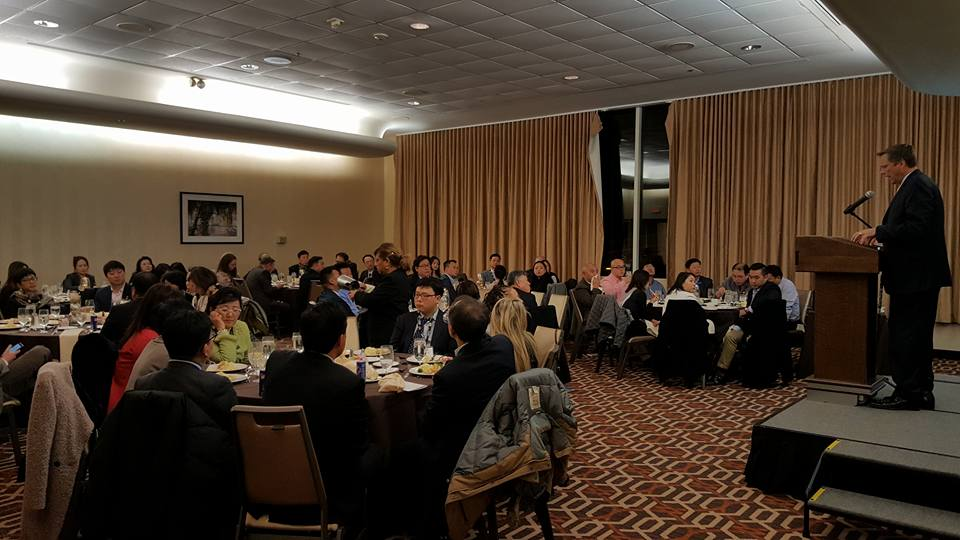 KoBE-USIDC 2020 1st Quarterly Seminar and Networking Dinner Dec 2017