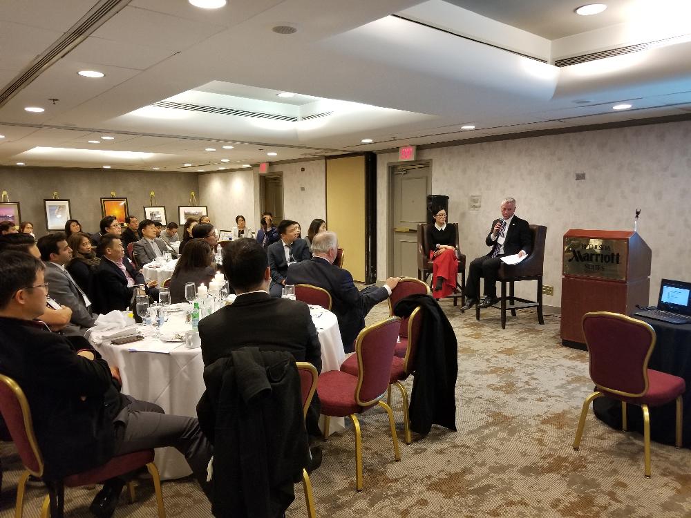 KoBE-USIDC 2020 1st Quarterly Seminar and Networking Dinner 1/30/2018 4